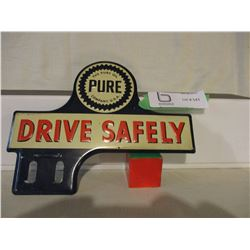 Pure Oil Company Drive Safely Advertising