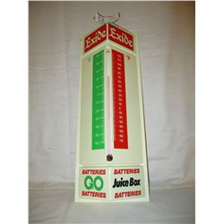 "EXID Batteries Plastic Wall Thermometer 18"" T"