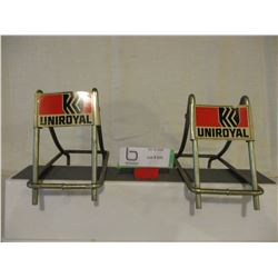 PR of Uniroyal Tire Racks
