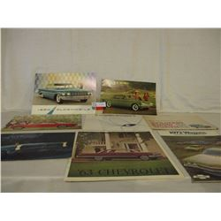 Box of 20 1960s/1970s Chevrolet Car and Truck Brochures