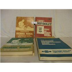 6 Chevrolet 1970s Service Manuals