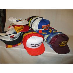 60 Assorted New Automotive Advertising Ball Caps