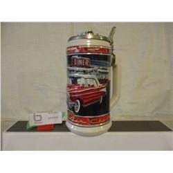 N.I.B Chevrolet 1957 Bel Air Budweiser Beer Stein