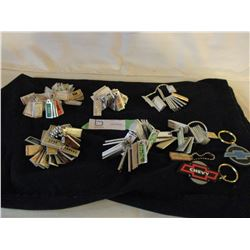 War Amps Key Tags Collection 1940s-1980s