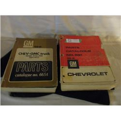 2 GMC 1958 and 1969 Parts Manuals