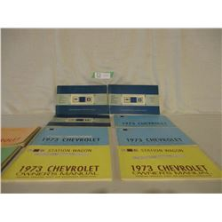 10 1972/73 Chevrolet Car Owner Manuals