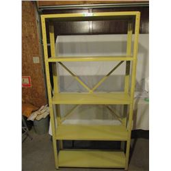 """2 Metal Shelving Units 11.5"""" by 36"""" by 71"""" T"""