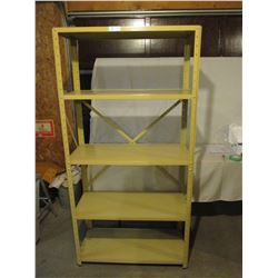 """3 Metal Shelving Units 15.5"""" by 36"""" by 71"""" T"""