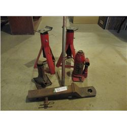 Floor Jacks, Stands and Trailer Hitch
