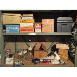 Large Amount of Assorted Vintage Auto Parts and Tools
