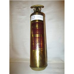 Brass General Fire Extinguisher with Wall Bracket Mount