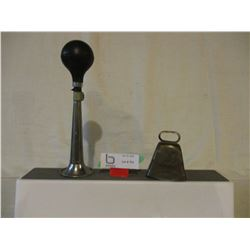 Small Brass Sheep Bell and Air Horn