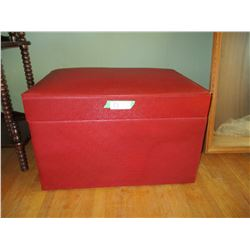 """Ottoman with Storage 16.5 by 25 by 15.5"""" T"""
