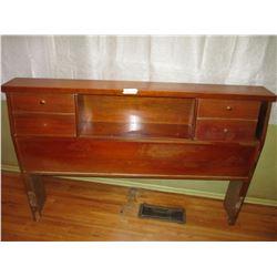 """Head Board, Side Rails (Wooden) and Rakings 56"""" L by 37.5"""" T"""