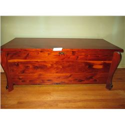 """Cedar Chest 15 by 43.5 by 18"""" T"""