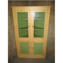 "Wooden Kitchen Corner Cabinet 25 by 43 by 70"""