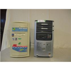 Pair of Computer Hard Drives, Discs and Accessories