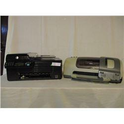 2 HP Printers, CD Rewriter and Computer Speakers