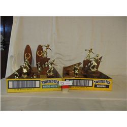 16 1960s Bowling Trophies