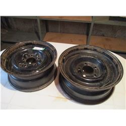 "Pair of 16"" Rims"
