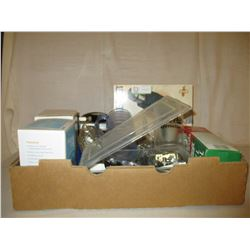 Box of Auto Parts and Hardware