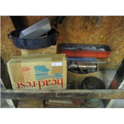 Assorted Auto Parts, Chain and etc.