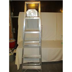 Step Ladder Aluminum 6FT