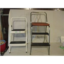 Stepping Stool and 1960s Chair