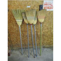 5 Corn Brooms
