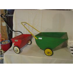 2 Fertilizer Spreaders