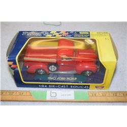 1940 Diecast Ford Pick Up Truck 1:24