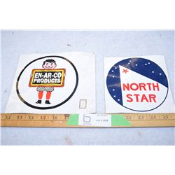 2X THE MONEY - En-Ar-Co North Star Decals