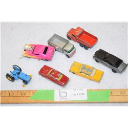 Vintage Die Cast Toy Lot 4