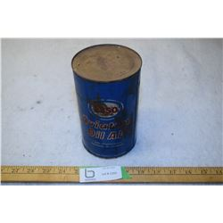 Full Esso Aviation Oil Tin