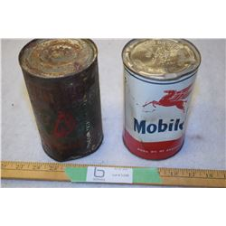 B/A And Mobile Oil (Full) Quarts