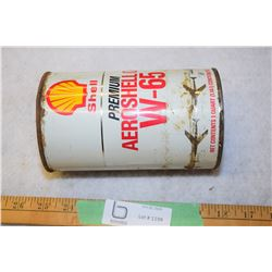 Shell Aviation Quart Full Can