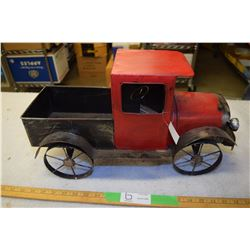 Folk Art Tin Truck
