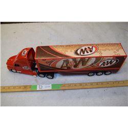 A& W Semi Truck Toy