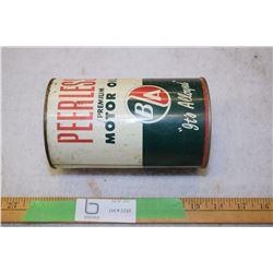 B/A Quart Oil Tin (Peerless)