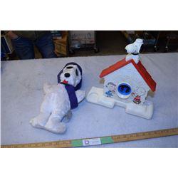 Snoopy Lot 1979 Sno Cone