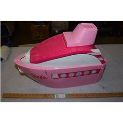 SS Barbie Boat Toy