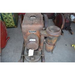 Stationary Engine IHC Model LB 3.5HP 1947 (Has Spark, Compression and Optional Oil Bath)