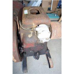 Stationary Engine IHC LBA 1.5-2.5 HP 1946 Running Brass Hand Crank