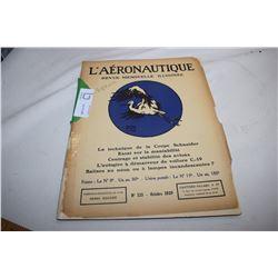 1929 Aeroplane Magazine (French) Bi-Planes