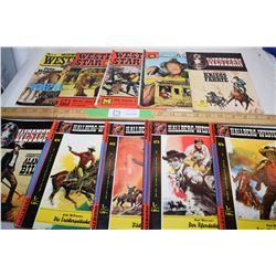 German Western Comics  (10 in Total)