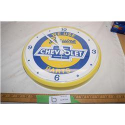 Chevrolet Clock