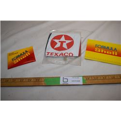 Texaco Beach Ball / Shell Scrapper and Calculator