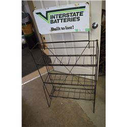 Intestate Battery Rack