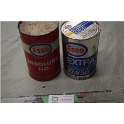 Esso Quart Tins (1 Full)