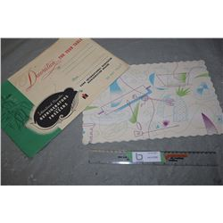 I-H 1950's Table Placemats